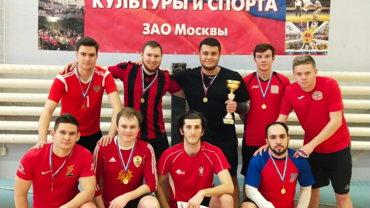 Победа в турнире по мини футболу