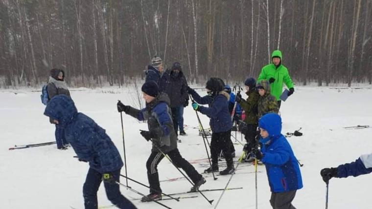 Состоялись спортивные районные соревнования «Лыжня зовет» среди подростков