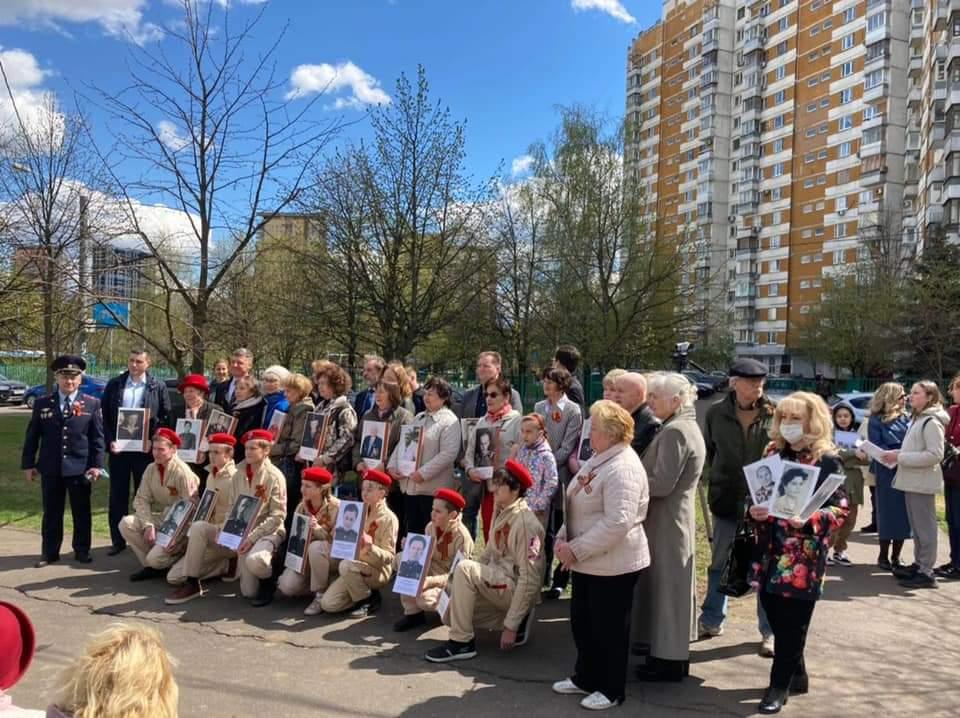 В Тропарёво-Никулино почтили память защитников Москвы в годы ВОВ